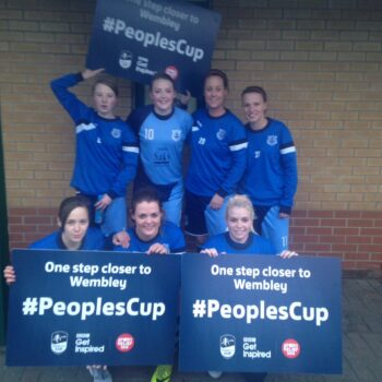 Ladies March to the Final of the FA People's Cup