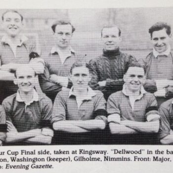 Former FA Amateur Cup Final player Frank Palmer passed away