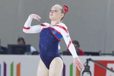 Well Done! Amy Tinkler
