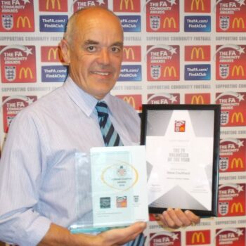 Steve Coulthard – FA Community Volunteer of the Year Award 2016