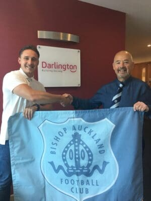 DARLINGTON BUILDING SOCIETY CONTINUE THEIR SUPPORT FOR THE TWO BLUES