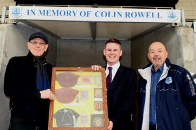 History of the Two Blues Donated to Club
