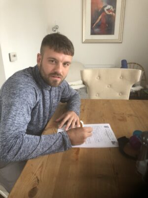 New Signing Callum Patton