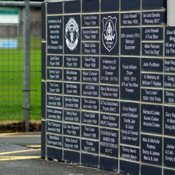 Official unveiling of the new supporters brick wall this Sunday 23rd Sept 3pm
