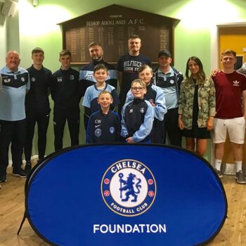 Two Blues enjoys benefits of links with Chelsea Foundation